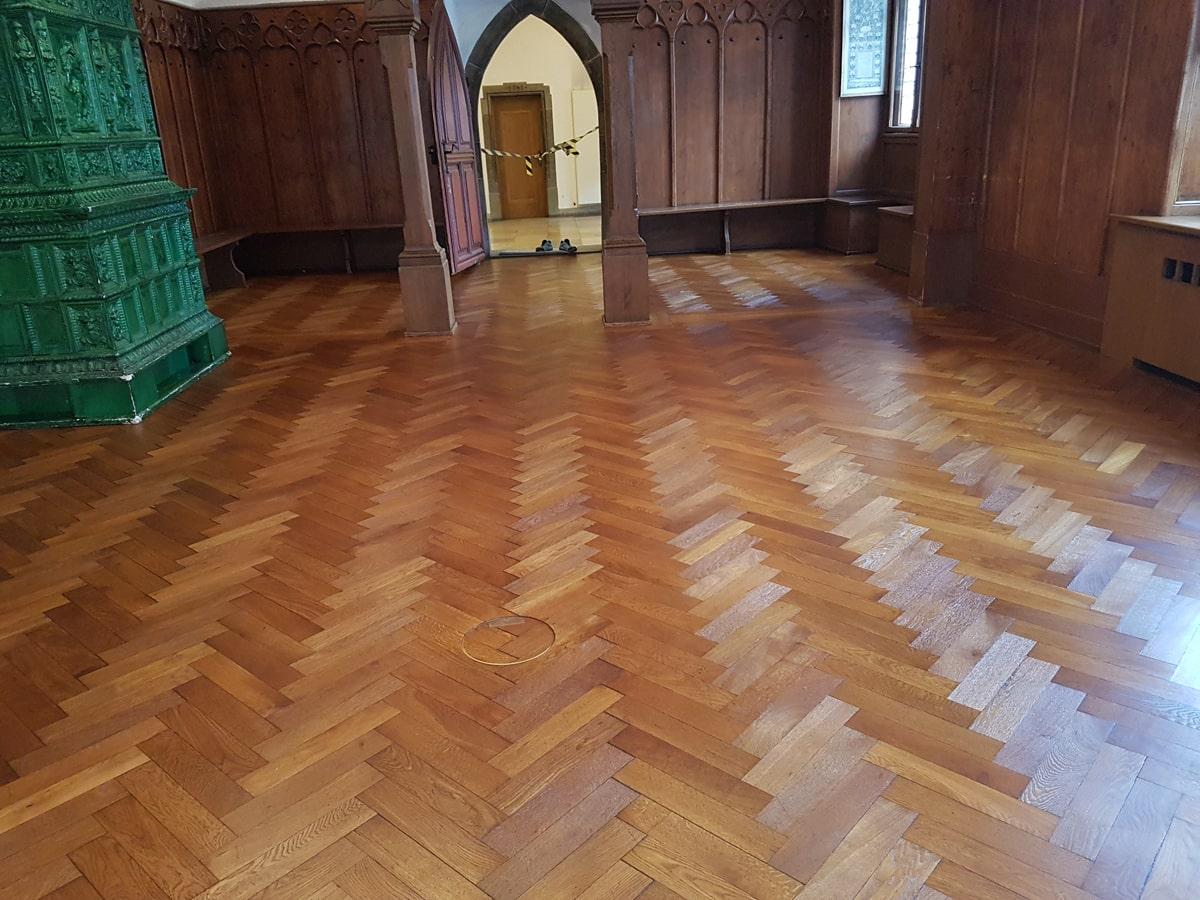 Restaurierung Saal