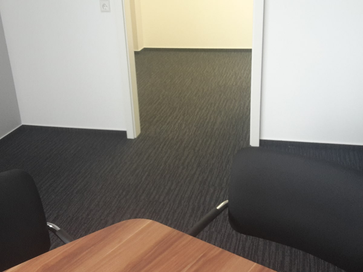 Teppichfliesen Büro